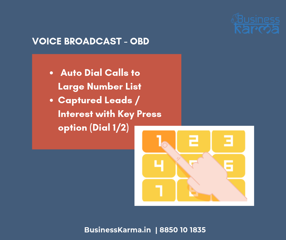 Voice broadcast solution - Business Karma