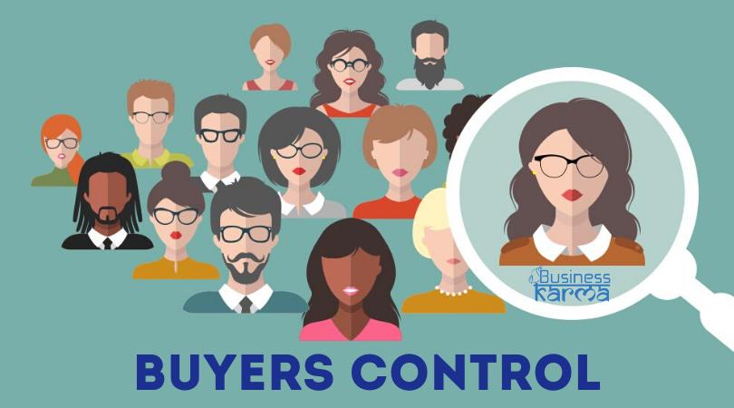 buyers control - business karma