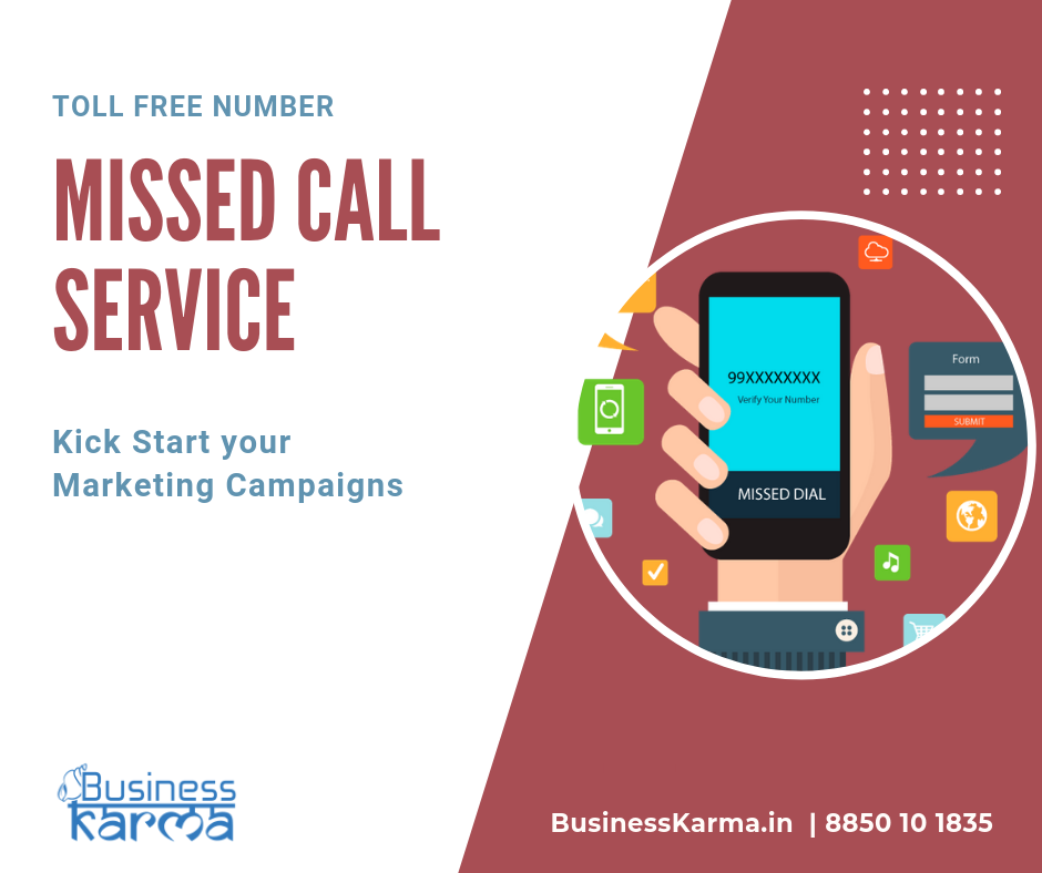 missed call number service