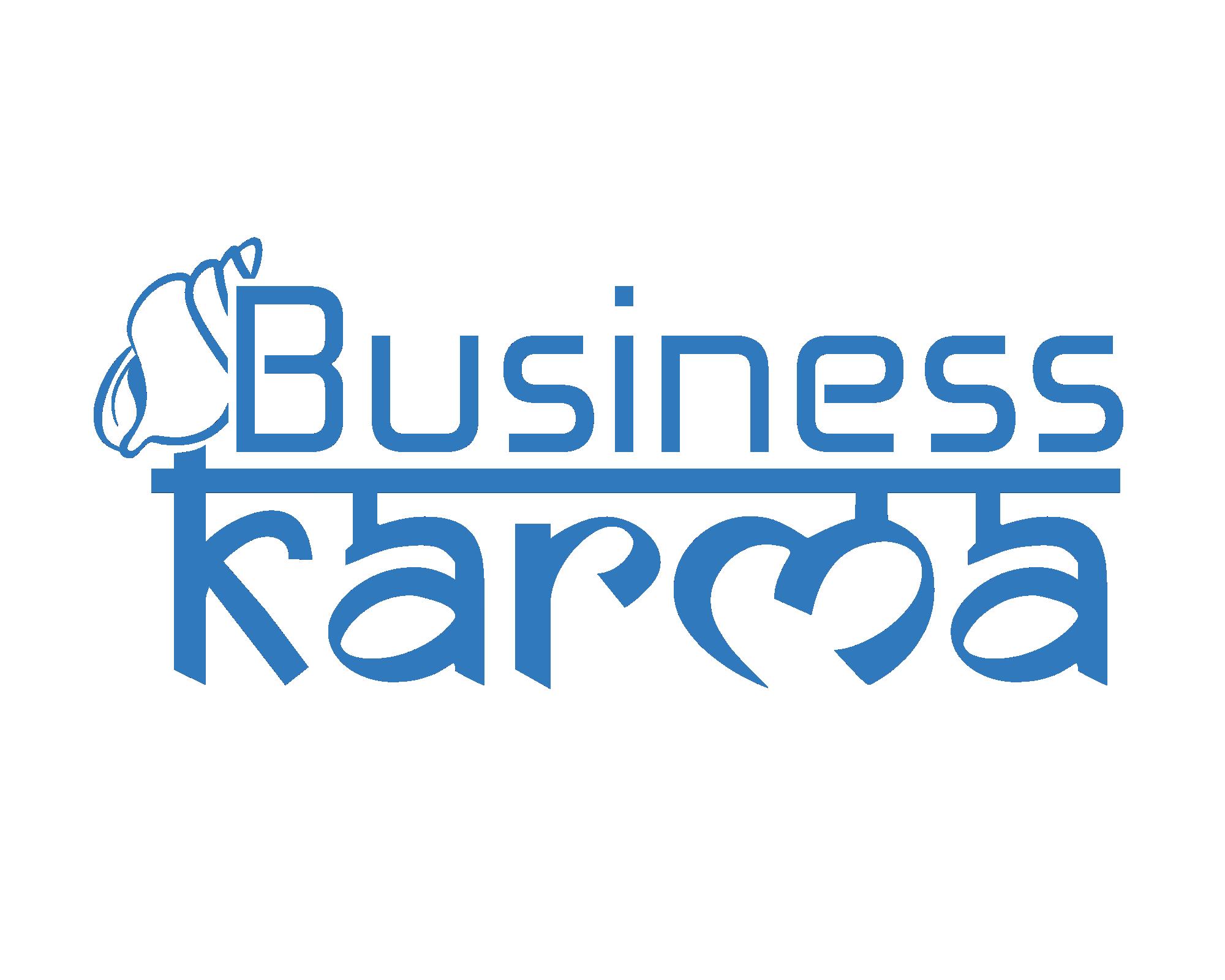 business karma transparent logo