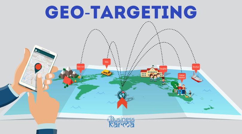 geo targeting - business karma