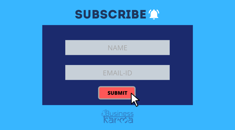 opt in forms - business karma