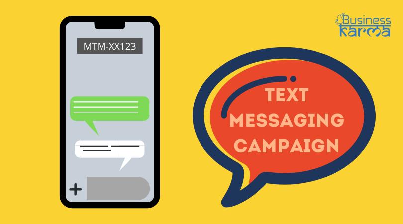 sms campaign - business karma