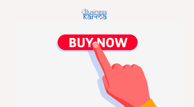 call to action - business karma